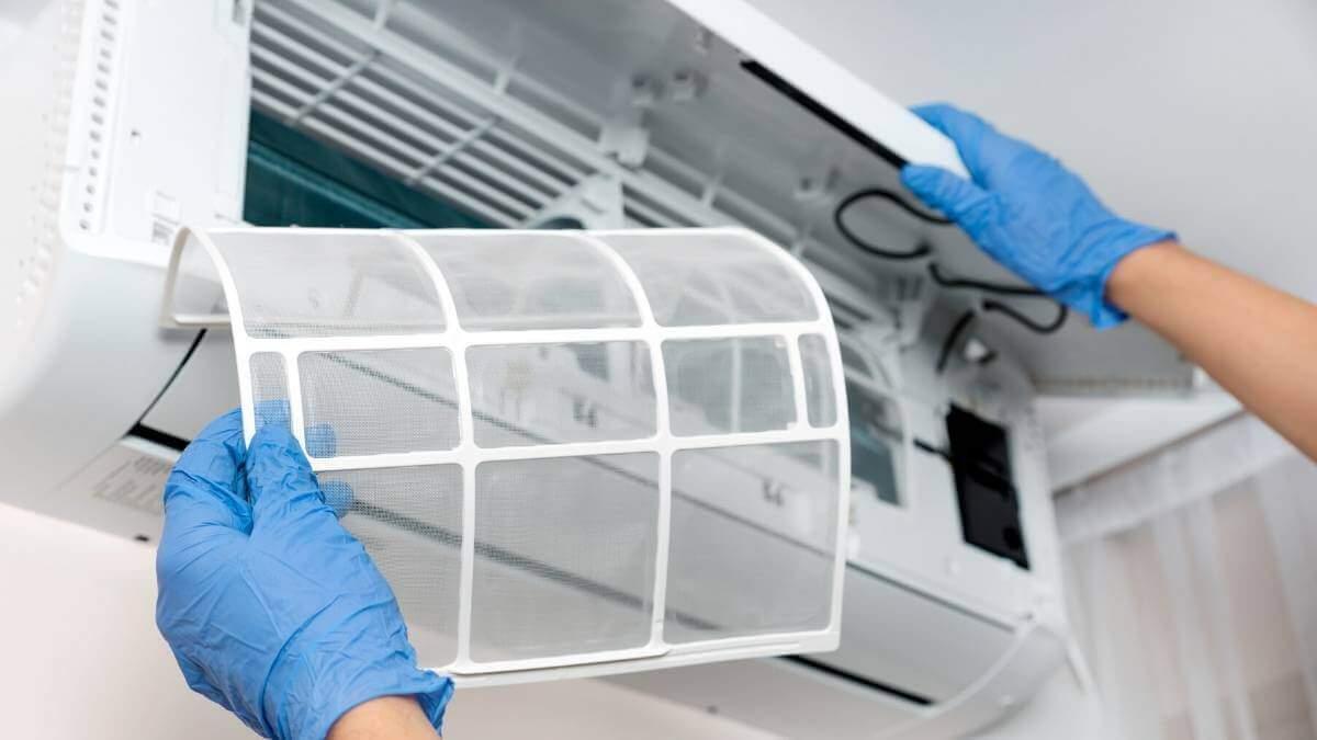 شركة غسيل مكيفات بالجبيلة تنظيف مكيفات سبليت ومركزي